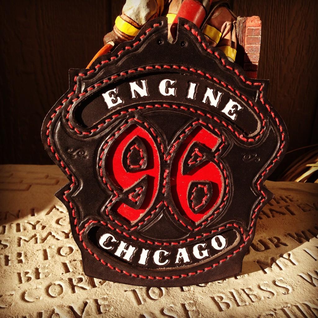 chicago fire department helmet shield