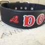 Custom Leather Firefighter Dog Collar