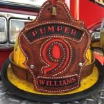 Fire Helmet Front - Kingpin